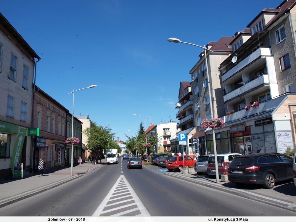 Goleniów Place I Ulice Moje Podróże Po Polsce